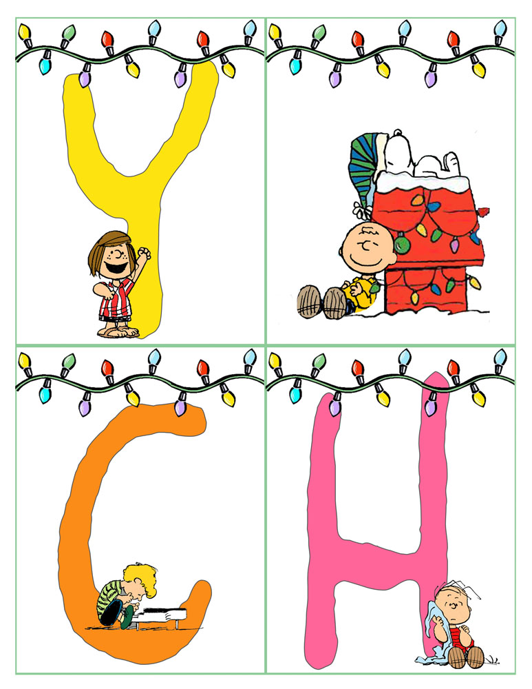 Peanuts Christmas Banner 2