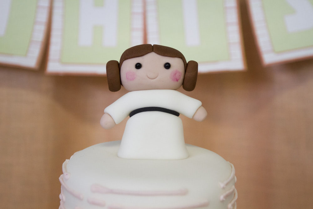 {STAR WARS} Princess Leia Baby Shower