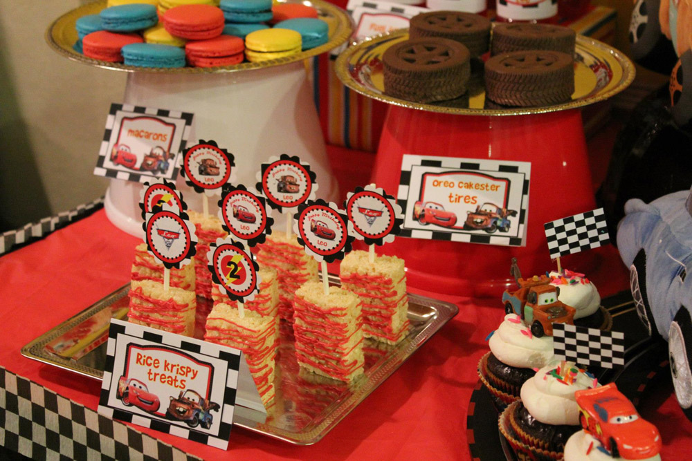 Cars Dessert Table-008