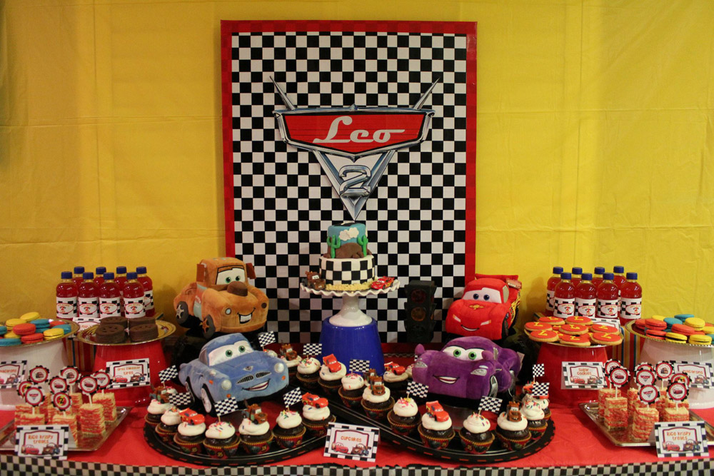 Cars Dessert Table-015